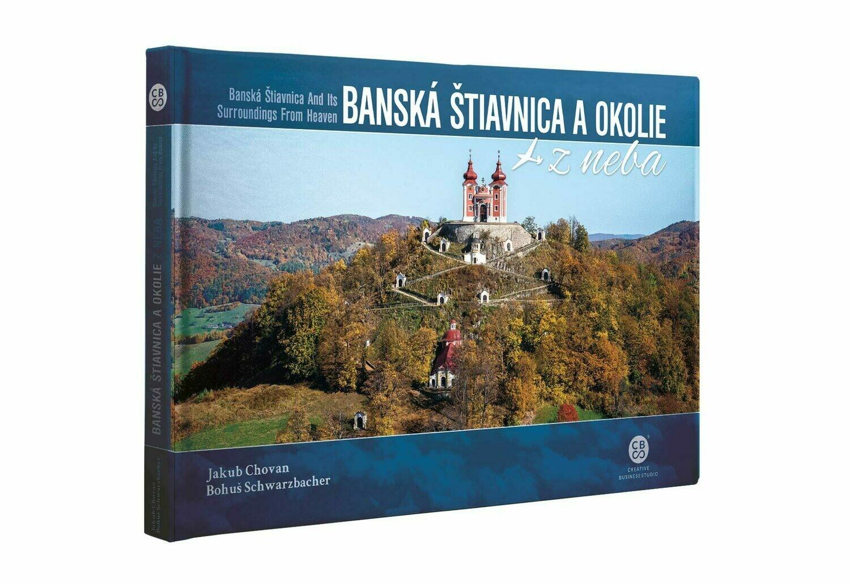 Banská Štiavnica a okolie z neba