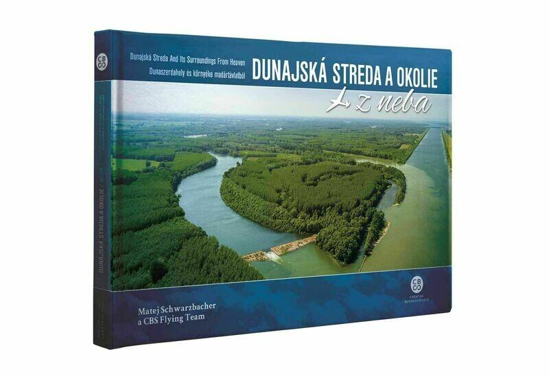 Dunajská Streda a okolie z neba