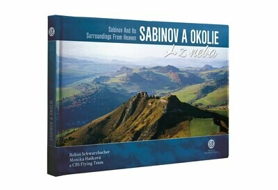 Sabinov a okolie z neba