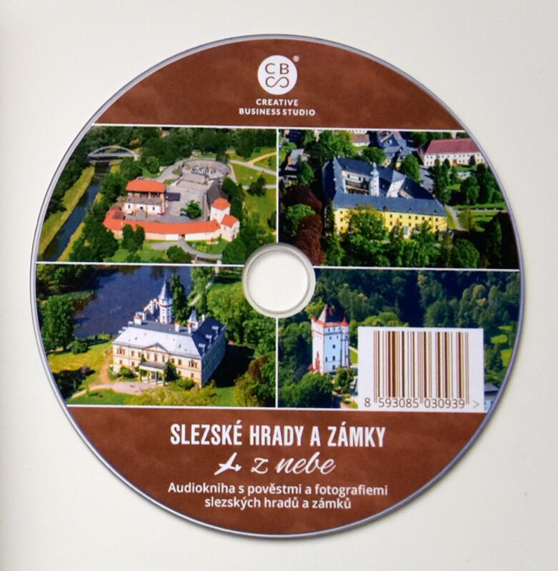 Audiokniha Slezské hrady a zámky z nebe na DVD