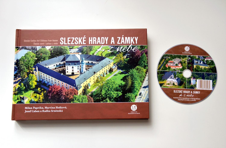 Slezské hrady a zámky z nebe + audiokniha na DVD