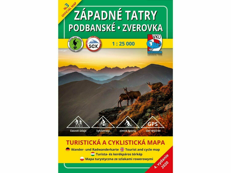 TM 3 - Západné Tatry - Podbanské - Zverovka