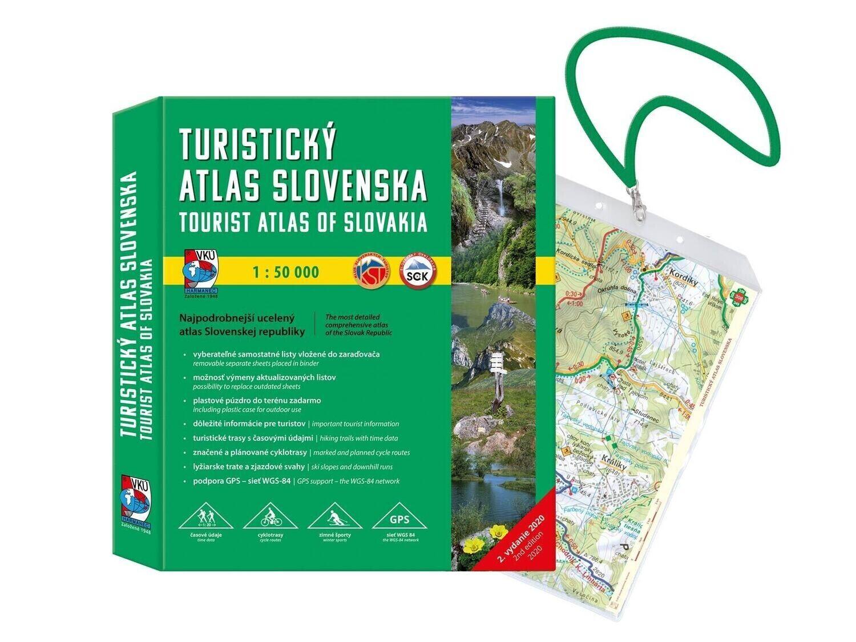 Turistický atlas Slovenska - VKÚ 1 : 50 000