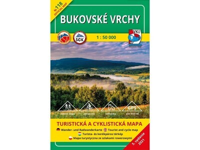 TM 118 - Bukovské vrchy