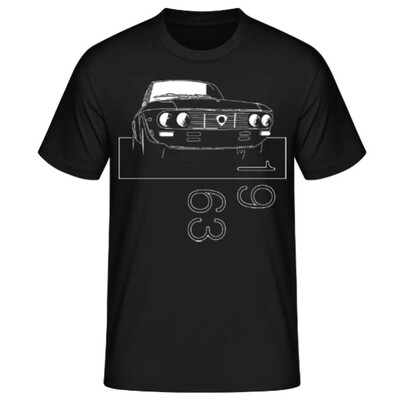 Lancia Fulvia Männer T-Shirt - No. 42sketch