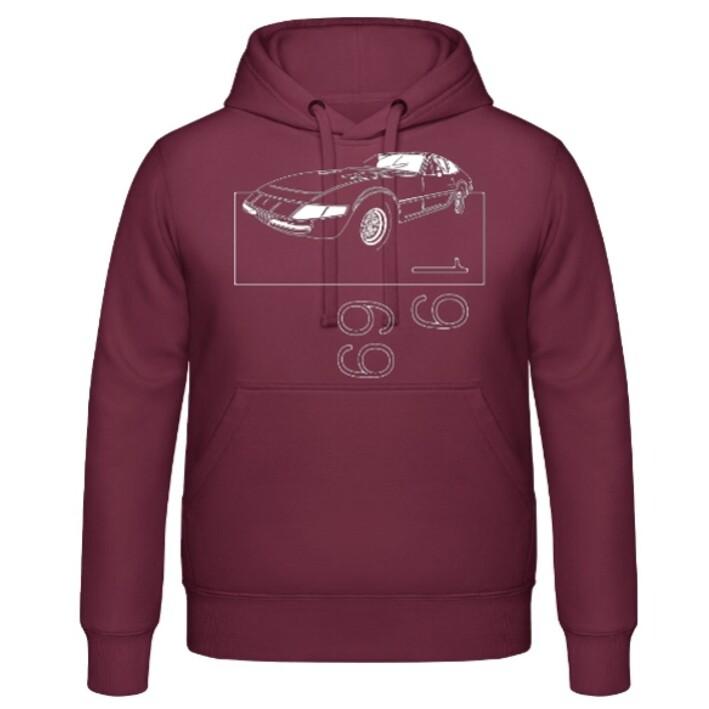 "Ferrari 365 GTB/4 ""Daytona"" Männer Hoodie - No. 6"