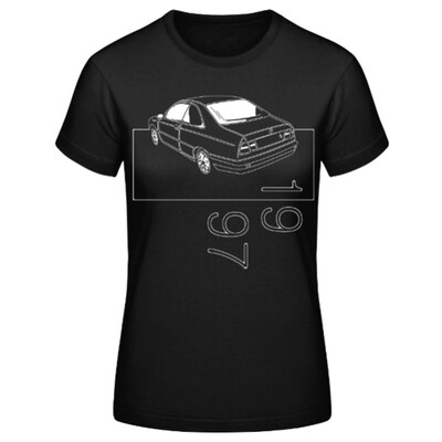 Lancia Kappa Coupé Frauen T-Shirt - No. 22sketch