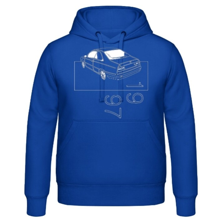 Lancia Kappa Coupé Männer Hoodie - No. 22sketch