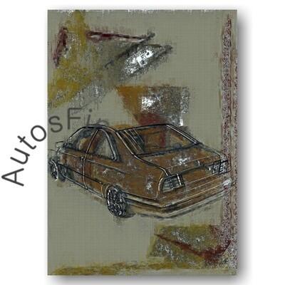 Lancia Kappa Coupe - HD Aluminiumbild No. 22special