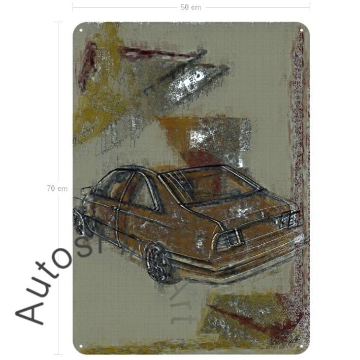 Lancia Kappa Coupé - Blechbild No. 22special