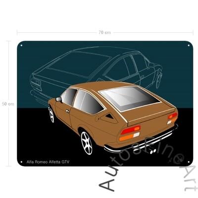 Alfa Romeo Alfetta GTV - Blechbild No. 7
