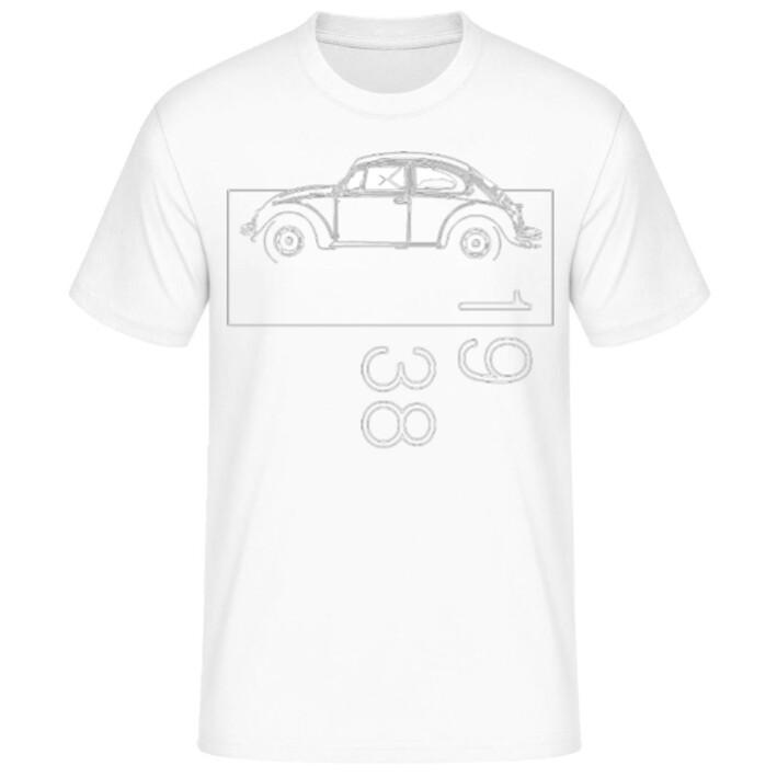 VW Käfer Männer T-Shirt - No. 123