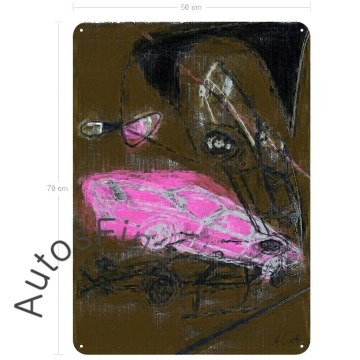 De Tomaso Pantera - Blechbild No. 46street