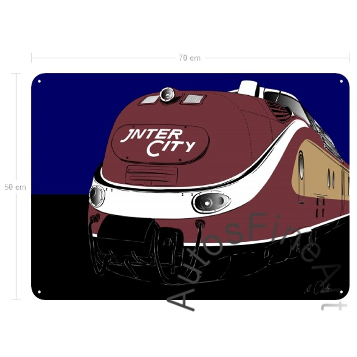 Blechbild RAILWAYspecial No. 1 INTERCITY