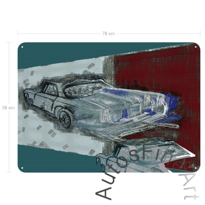 Maserati 3500 GT - Blechbild No. 47street