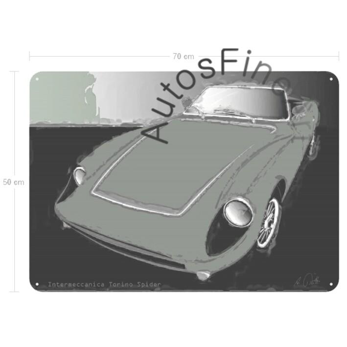 Intermeccanica Torino Spider - Blechbild No. 33classic