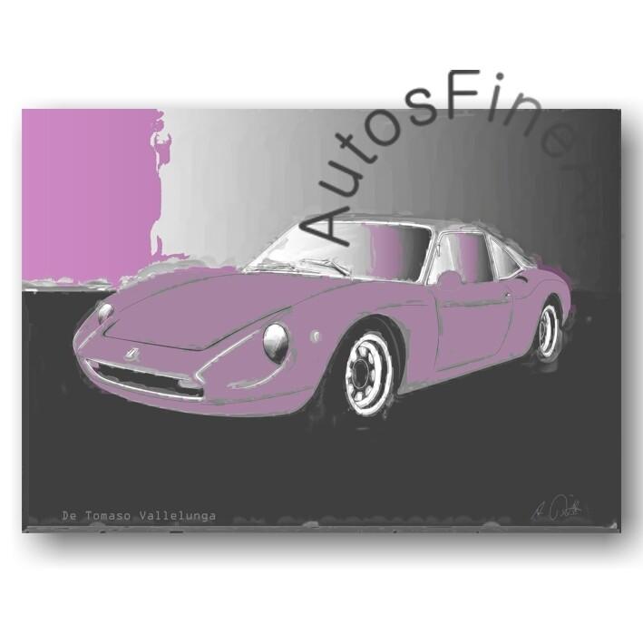 De Tomaso Vallelunga - Poster No. 35classic
