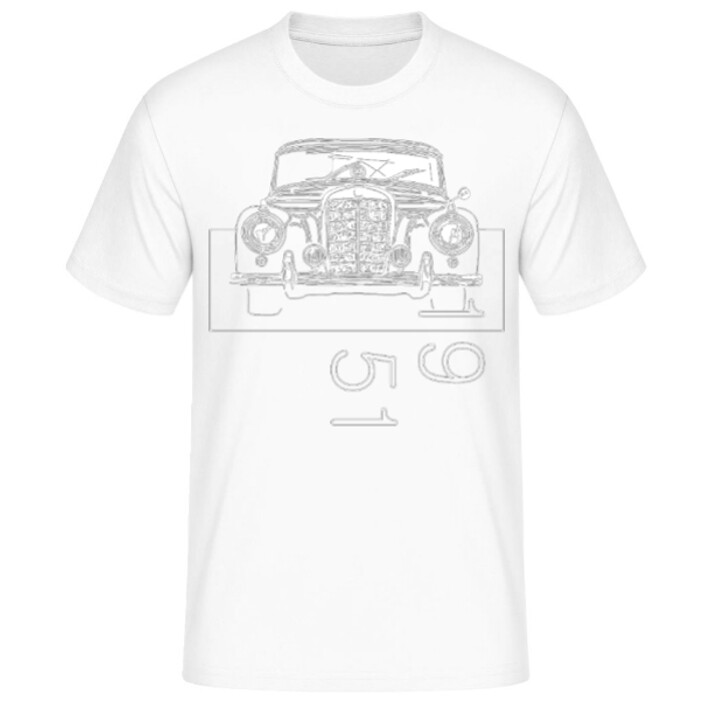 Mercedes 300 sc Männer T-Shirt - No. 133sketch