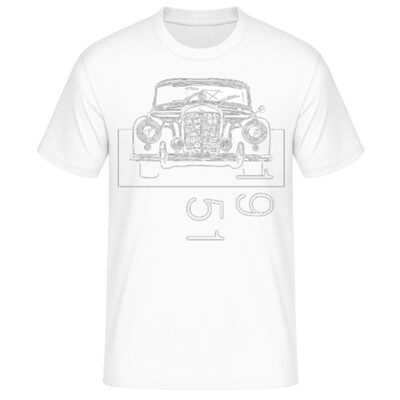 Mercedes 300 sc Männer T-Shirt - No. 133sketch