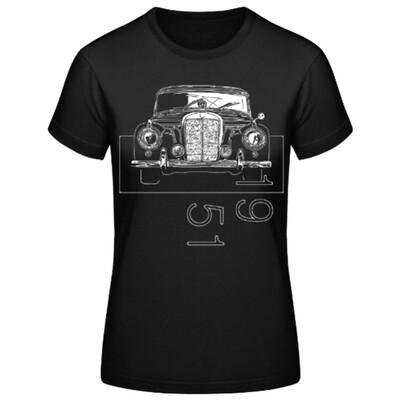 Mercedes 300 sc Frauen T-Shirt - No. 133sketch