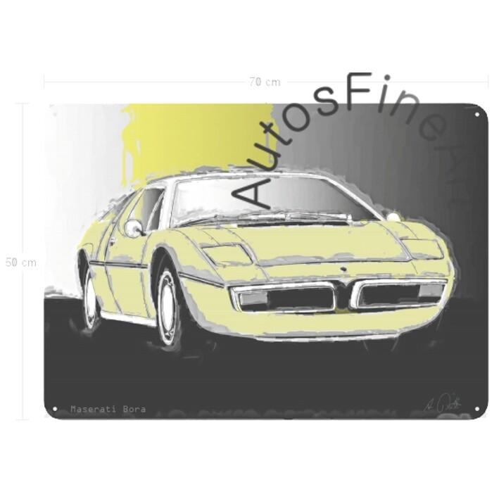 Maserati Bora - Blechbild No. 37Classic