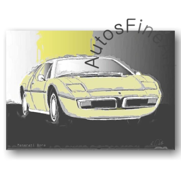 Maserati Bora - Poster No. 37classic
