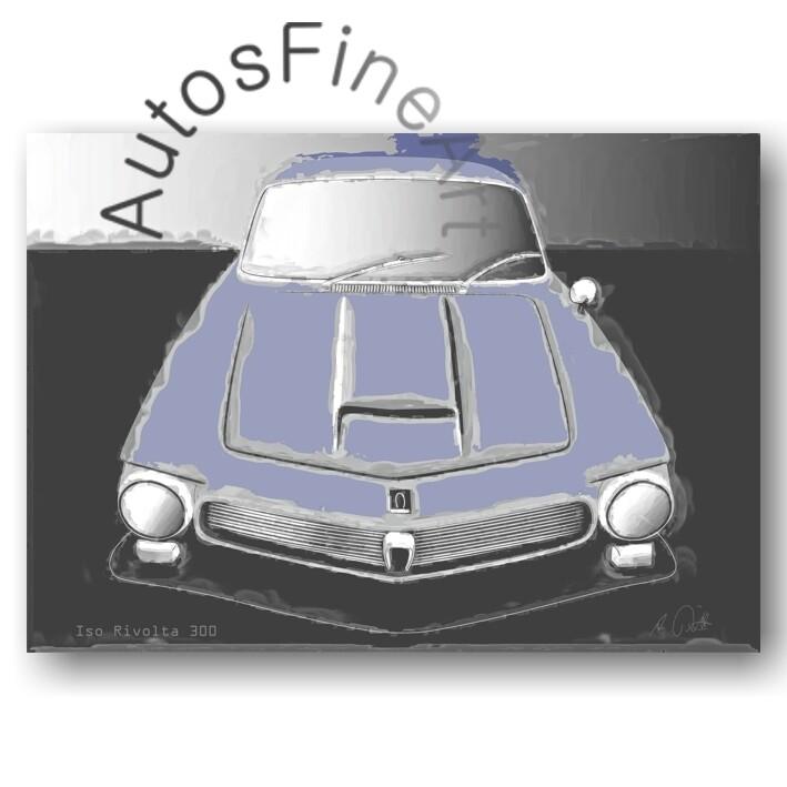 Iso Rivolta 300 - Poster No. 38classic
