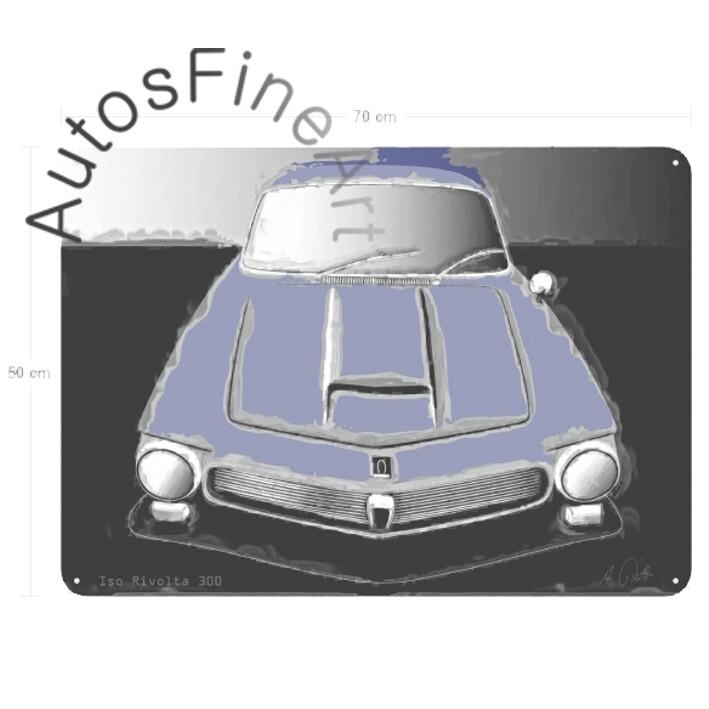 Iso Rivolta 300 - Blechbild No. 38classic