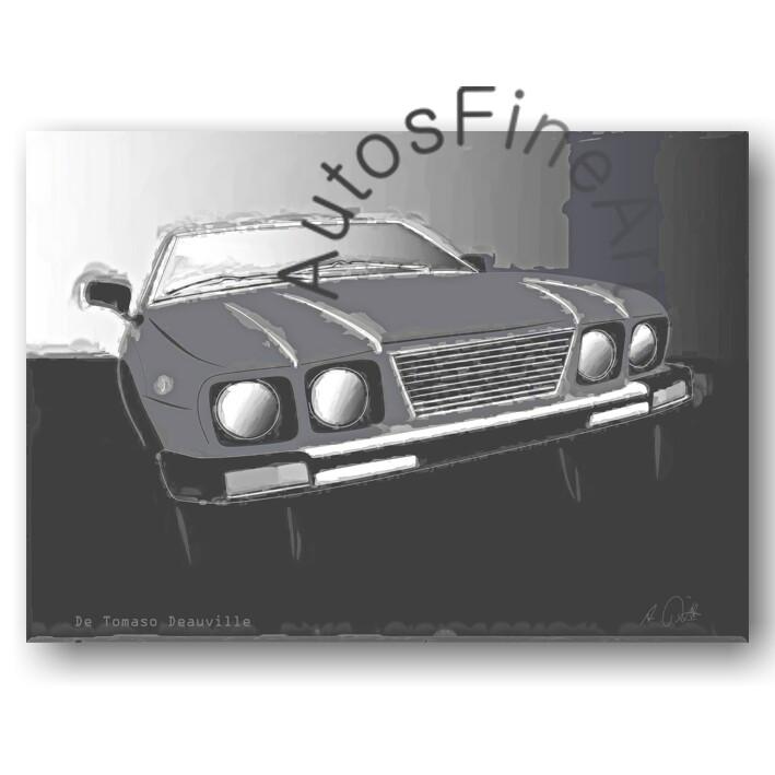 De Tomaso Deauville - HD Aluminiumbild No. 39classic