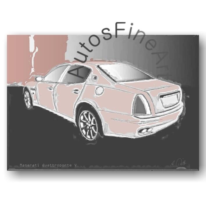 Maserati Quattroporte V - HD Aluminiumbild No. 40classic