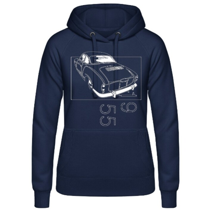 VW Karmann Ghia Frauen Hoodie - No. 154