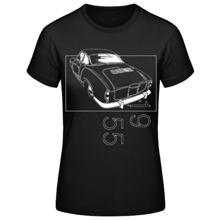 VW Karmann Ghia Frauen T-Shirt - No. 154