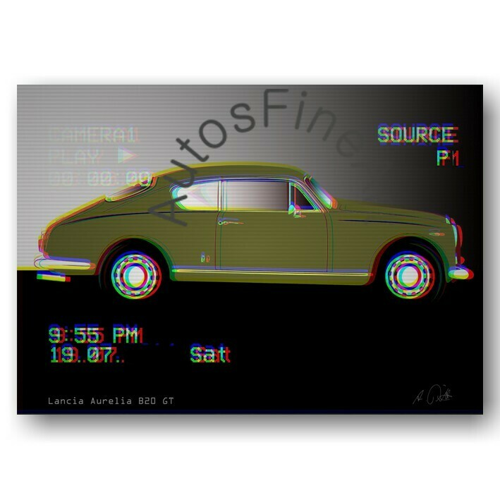 Lancia Aurelia B20 GT -Poster No. 53movie