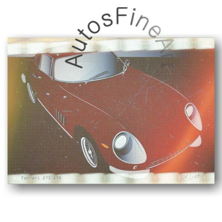 Ferrari 275 GTB - HD Aluminiumbild No. 56movie