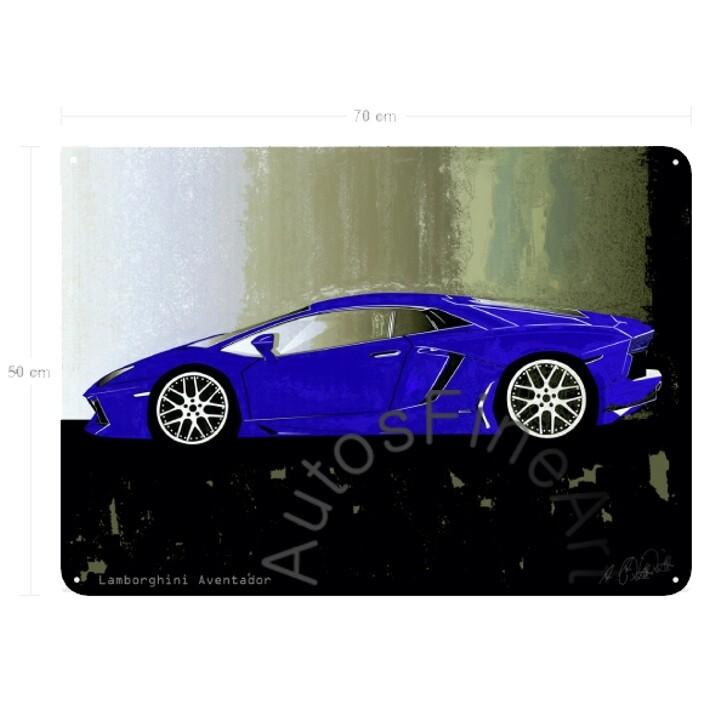 Lamborghini Aventador - Blechbild No. 55spark