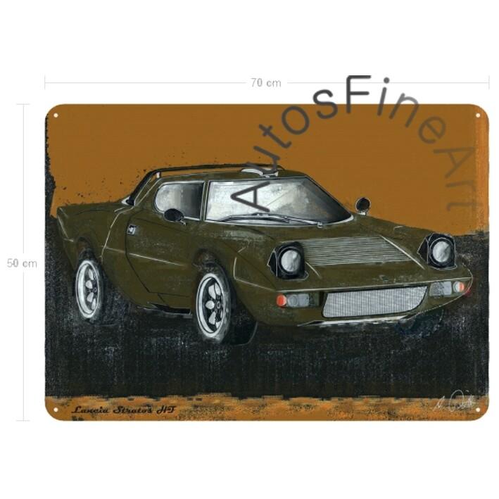 Lancia Stratos HF - Blechbild No. 61spark