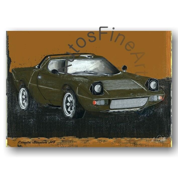 Lancia Stratos HF - Poster No. 61spark