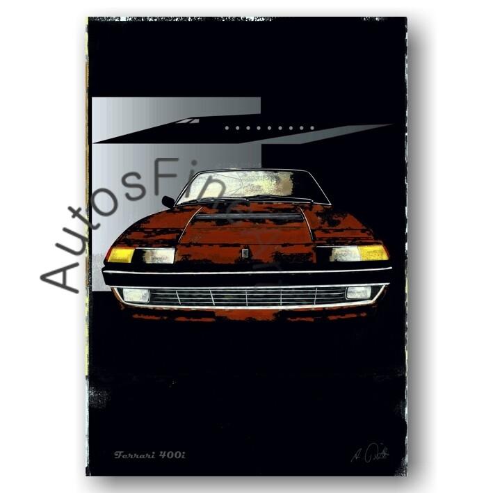 Ferrari 400i - Poster No. 65special