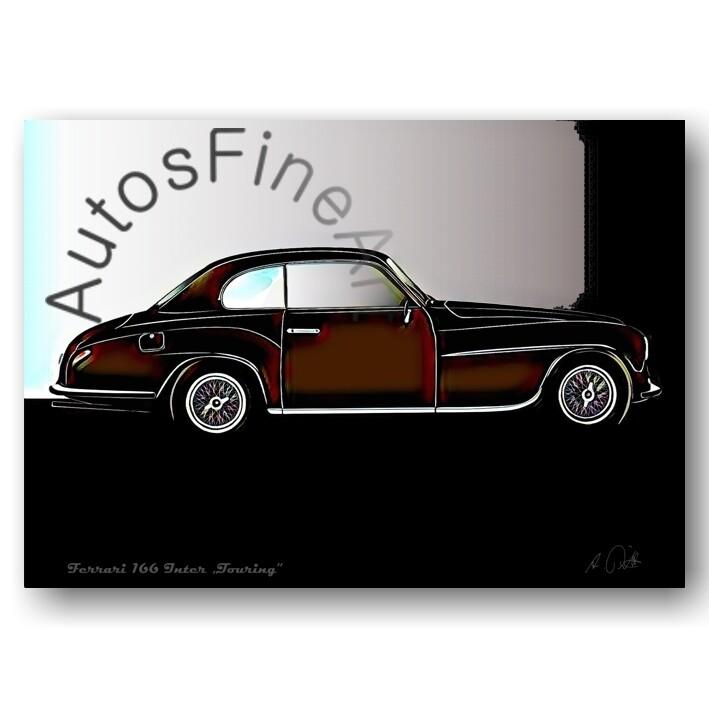 Ferrari 166 Inter TOURING - Poster No. 68glow