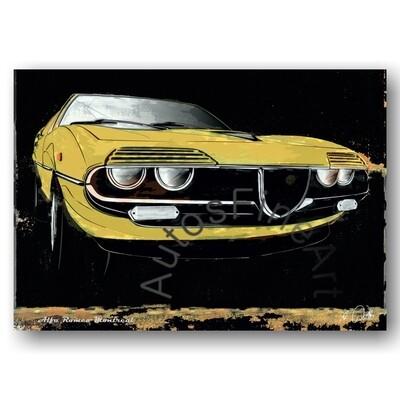 Alfa Romeo Montreal - Poster No. 69spark