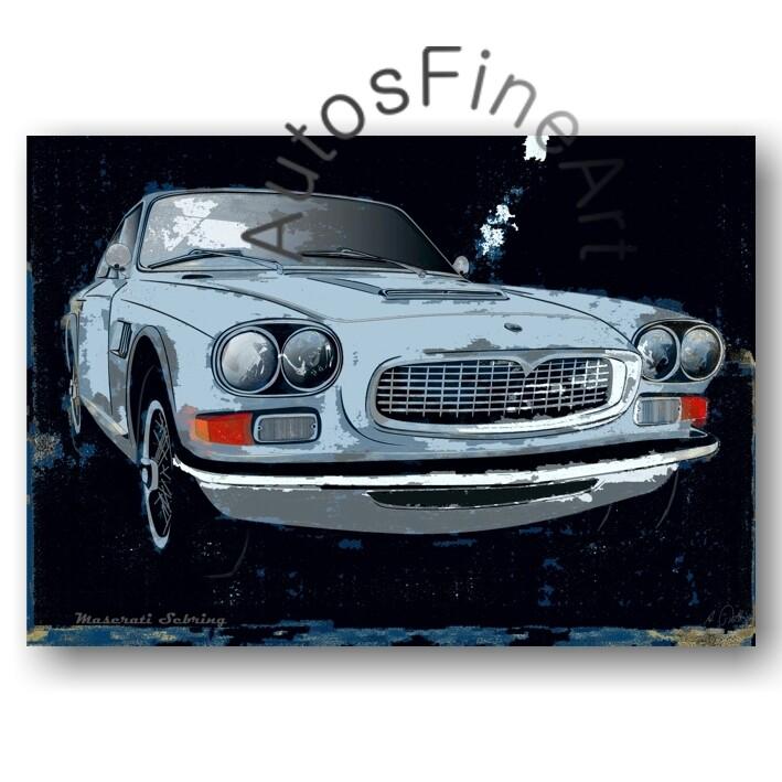 Maserati Sebring - Poster No. 71spark