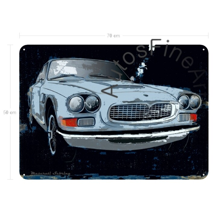 Maserati Sebring - Blechbild No. 71spark