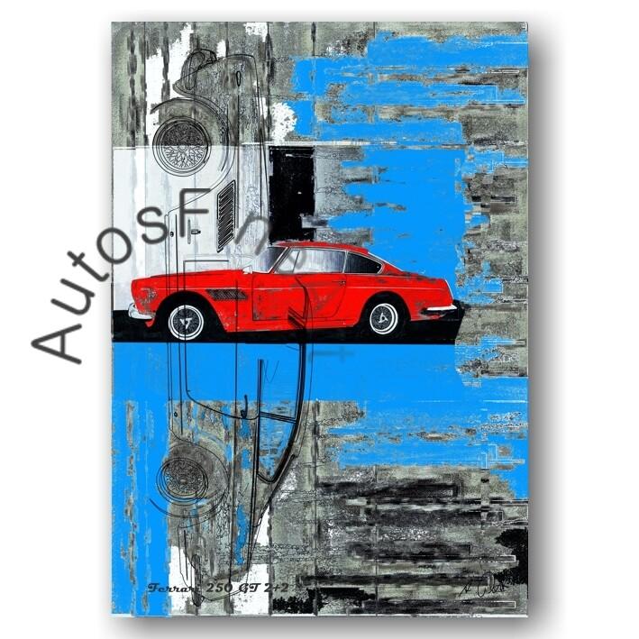 Ferrari 250 GT 2+2 - Poster No. 76street