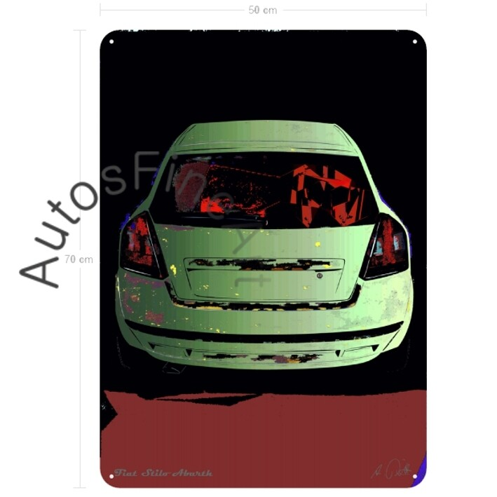 Fiat Stilo Abarth - Blechbild No. 77glow