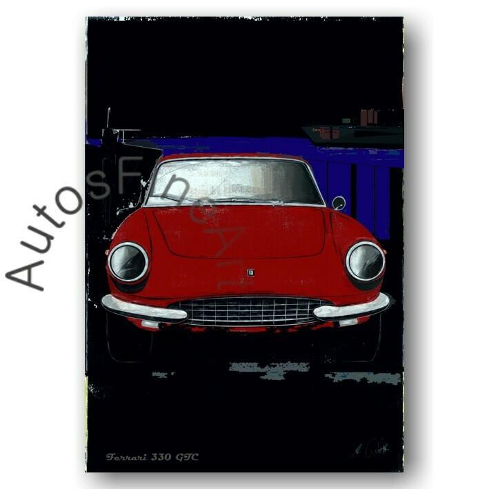 Ferrari 330 GTC - Poster No. 81special