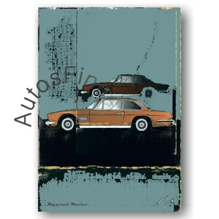 Maserati Mexico - Poster No. 82street