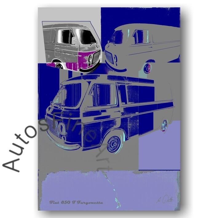 Fiat 238 T Furgonetta - Poster No. 85special