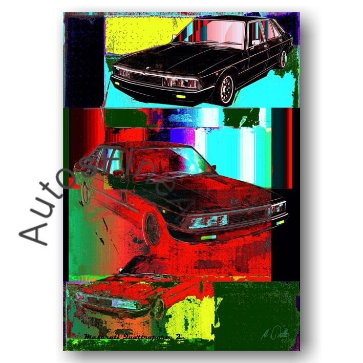 Maserati Quattroporte 2 - Poster No. 89pop