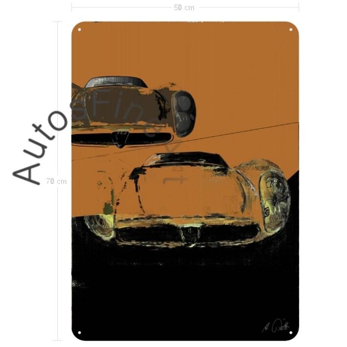 Alfa Romeo 33 Stradale - Blechbild No. 83street