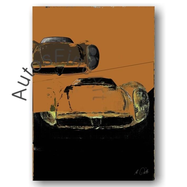 Alfa Romeo 33 Stradale - HD Aluminiumbild No. 83street